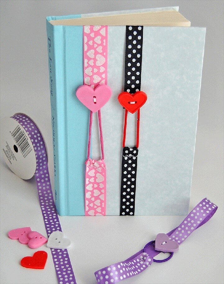DIY Crafts To Sell Ribbon Bookmarks