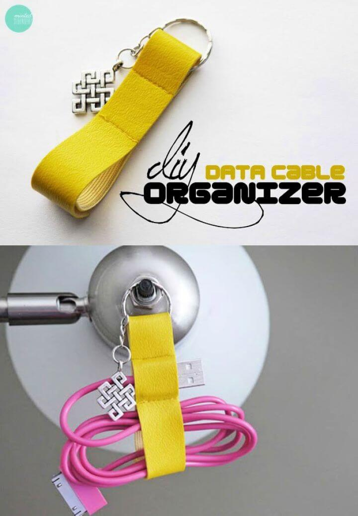 DIY Data Cable Organizer