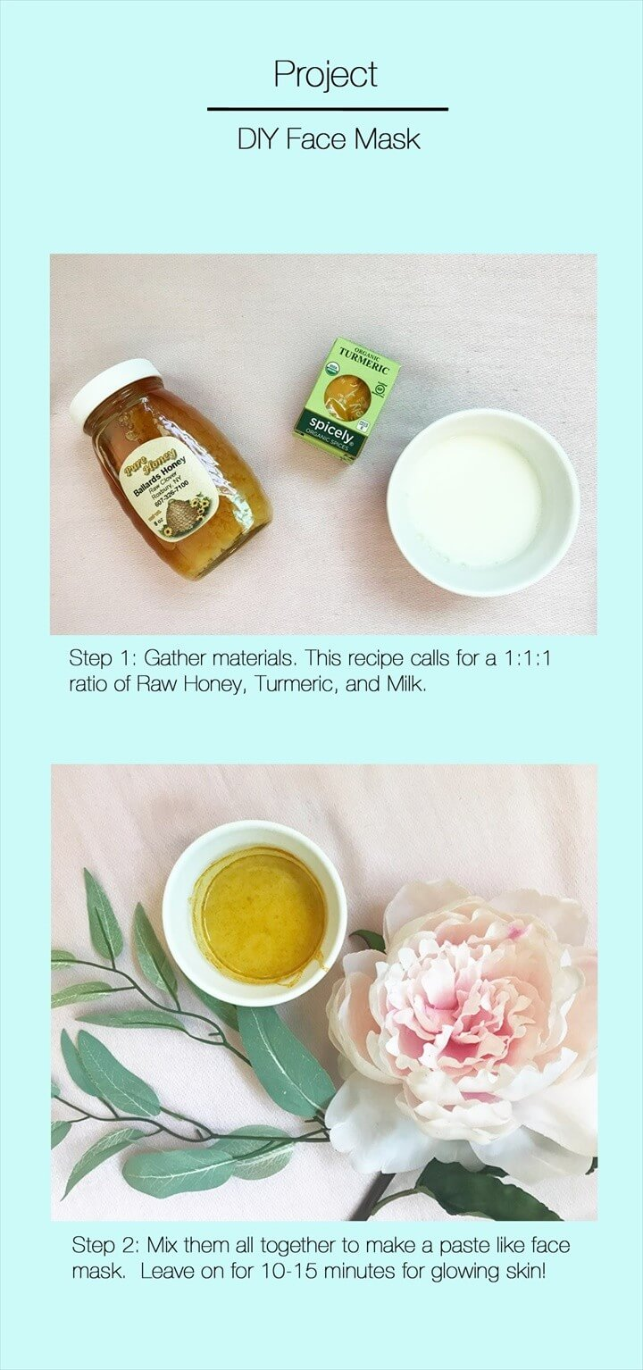 DIY Easy To Make Face Mask