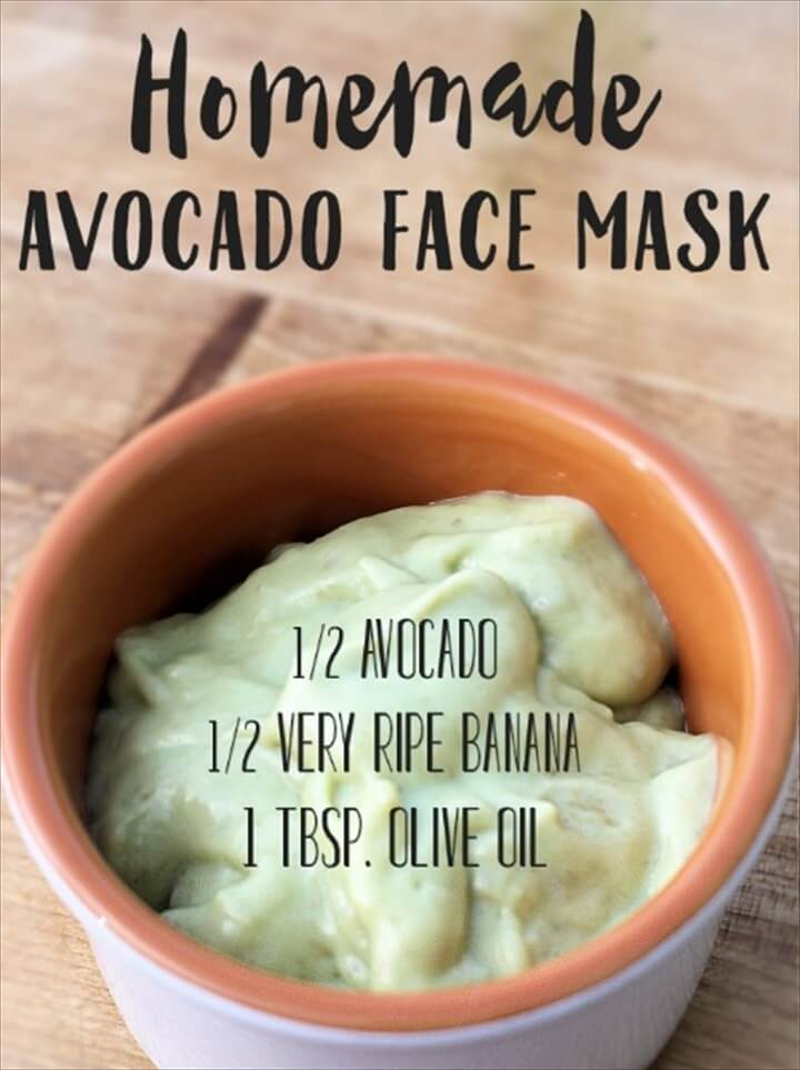 DIY Face Mask Recipes To Make At Home