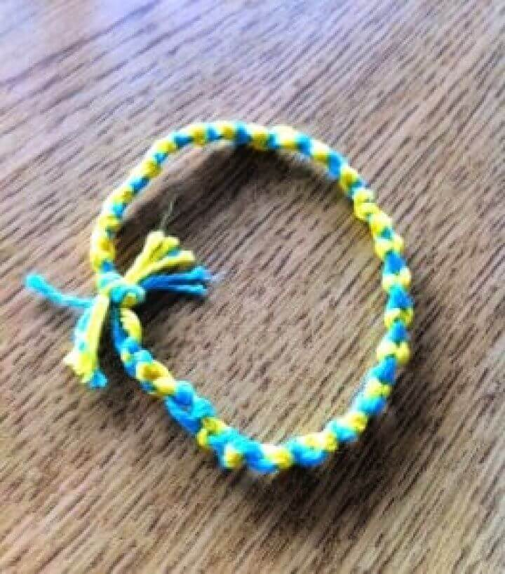 DIY Friendship Bracelet Step By Step Tutorial