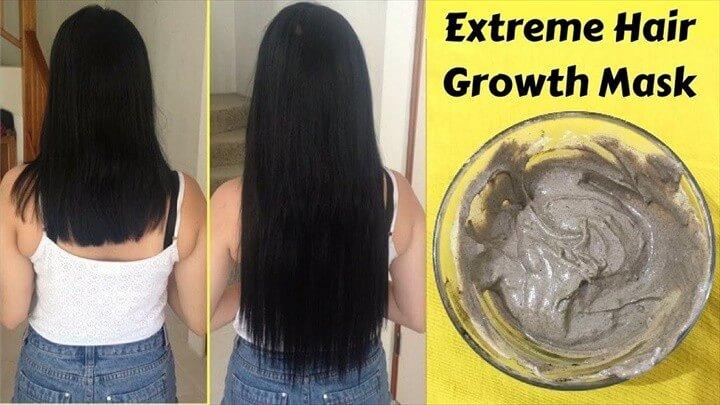 DIY Grow Hair Long and Strong Hair Mask