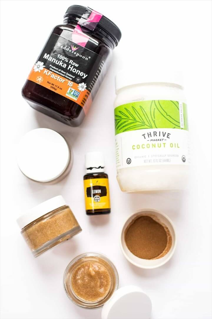 DIY Honey Cinnamon Face Mask