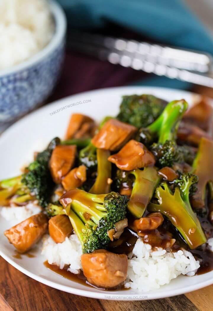Easy 20 Minute Teriyaki Chicken and Broccoli