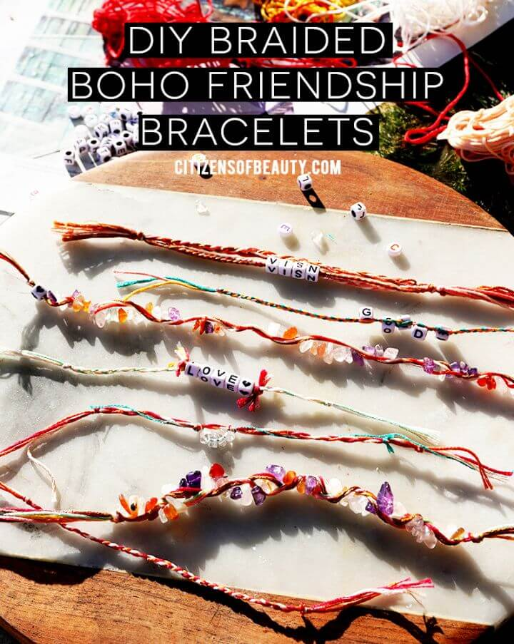 Easy Boho Beaded Friendship Bracelets