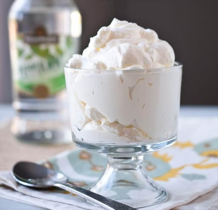 Easy Boozy Whipped Cream Recipes
