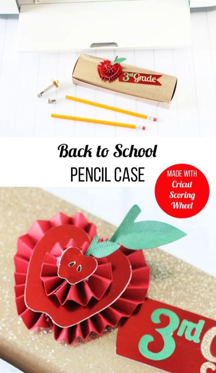 Easy DIY Cricut Scoring Wheel Pencil Box