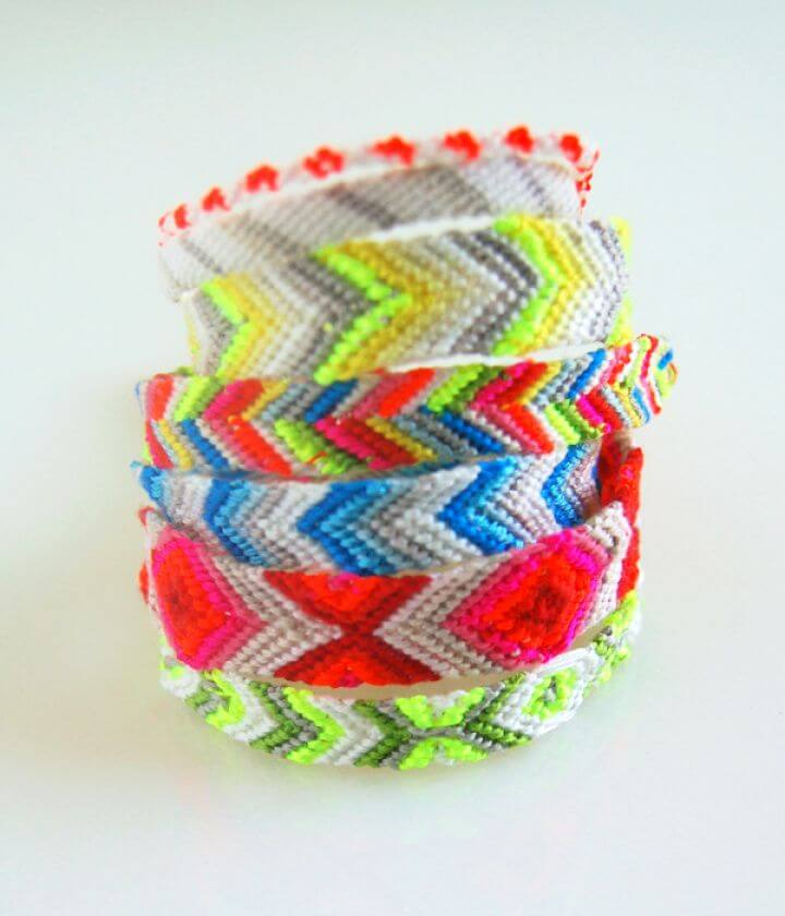 Easy DIY Friendship Bracelets