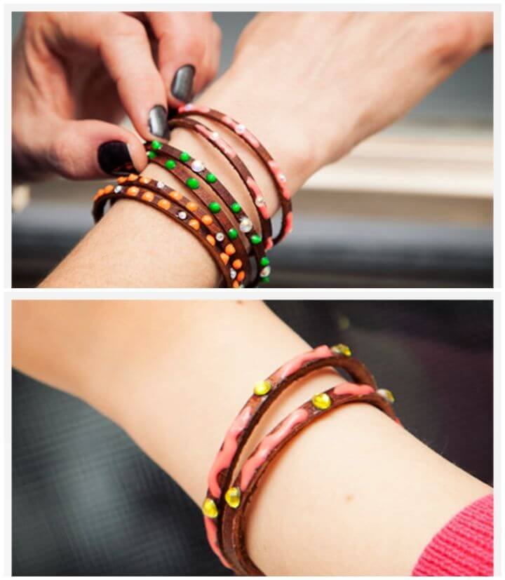 Easy DIY Neon Friendship Bracelets