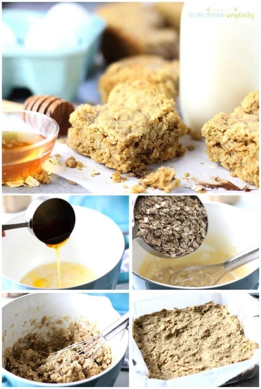 Easy DIY Oatmeal Bars Recipe