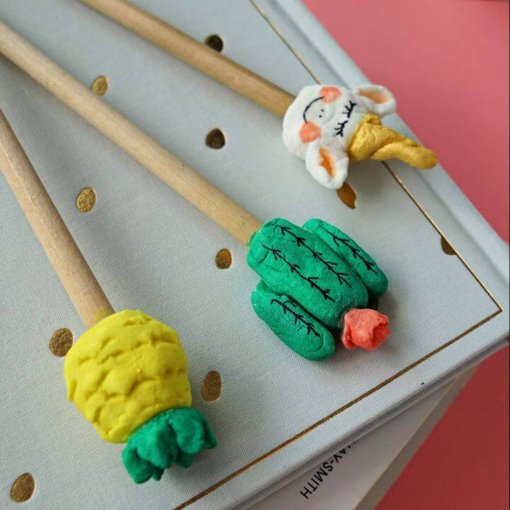 Easy DIY Pencil Toppers