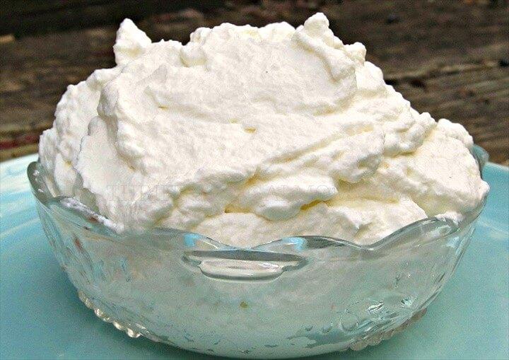 Easy Homemade Whipped Cream Homemade Cool Whip