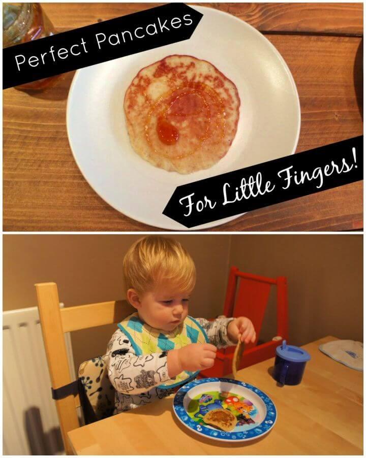 Easy Pancake Recipe – Toddler Breakfast Ideas