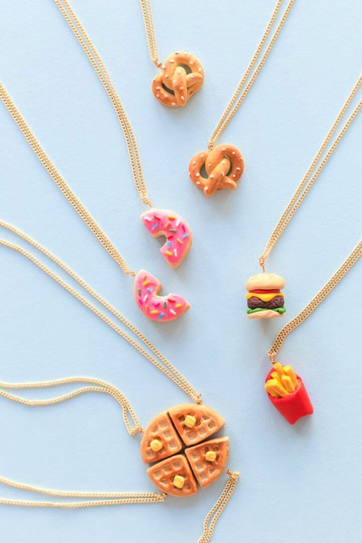 Foodie Friendship Necklaces
