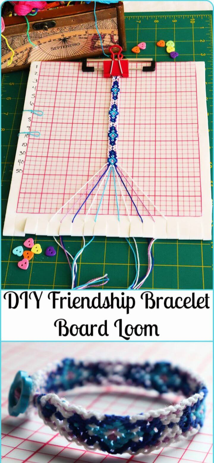 Friendship Bracelet Board Loom