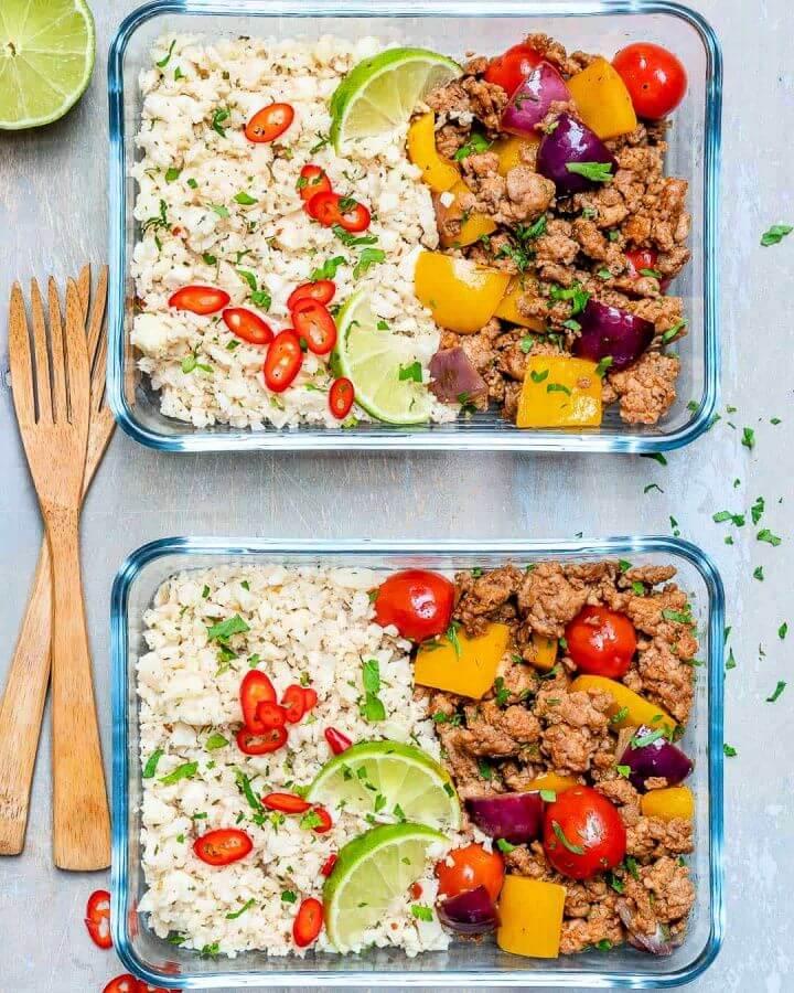 Ground Turkey Cauliflower Rice Recipe