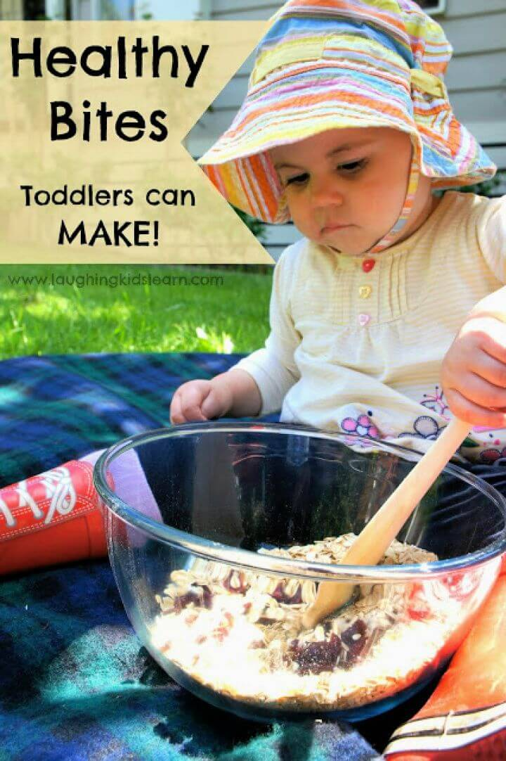Healthy Bite Recipe Toddlers Can Make
