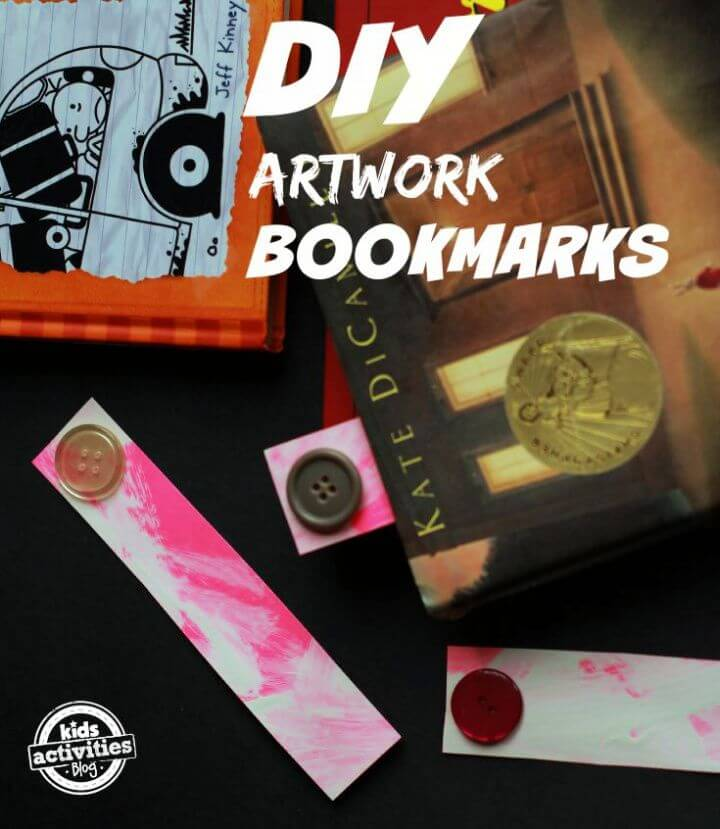 How To DIY Artwork Bookmarks