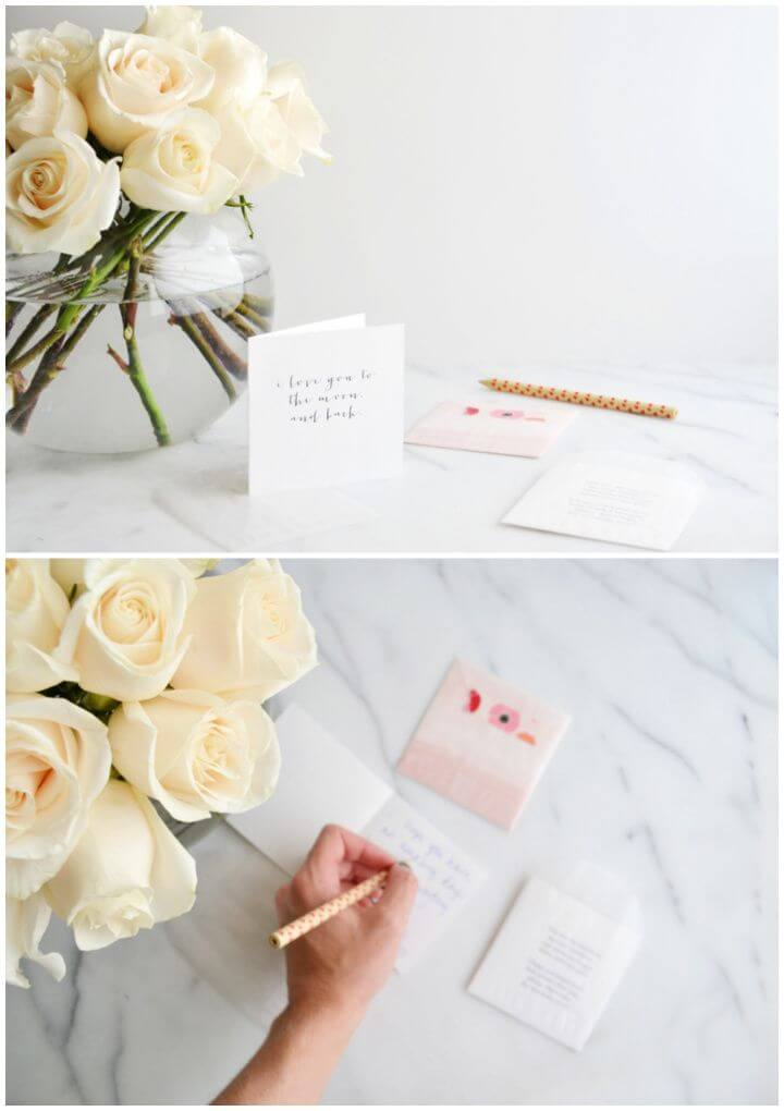 How To DIY Back To School Love Notes