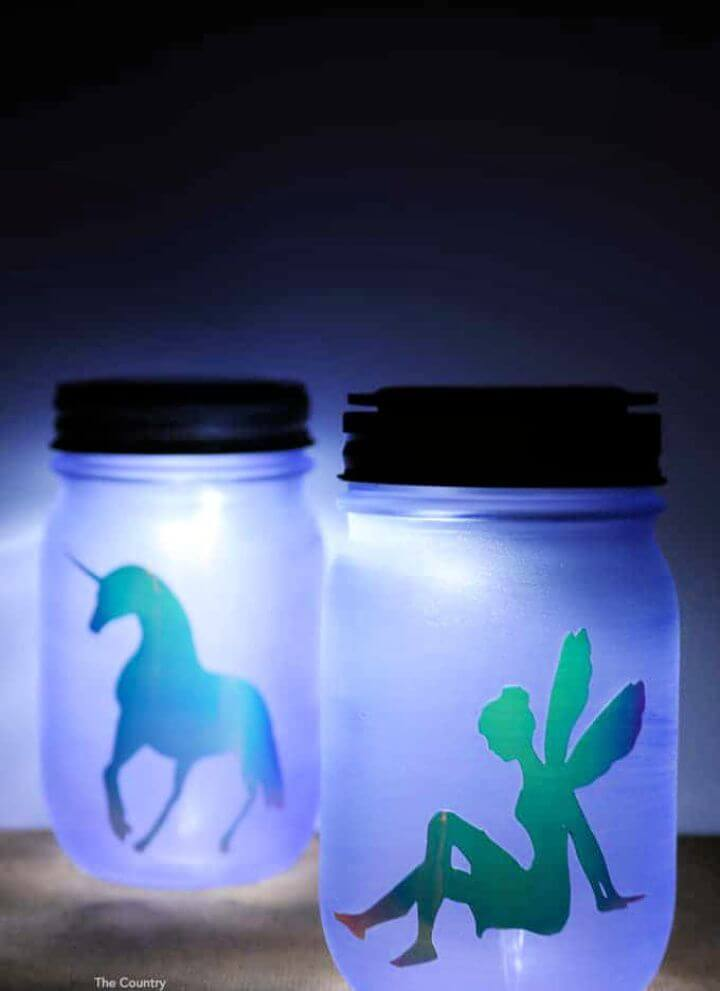 How To DIY Mason Jar Night Light