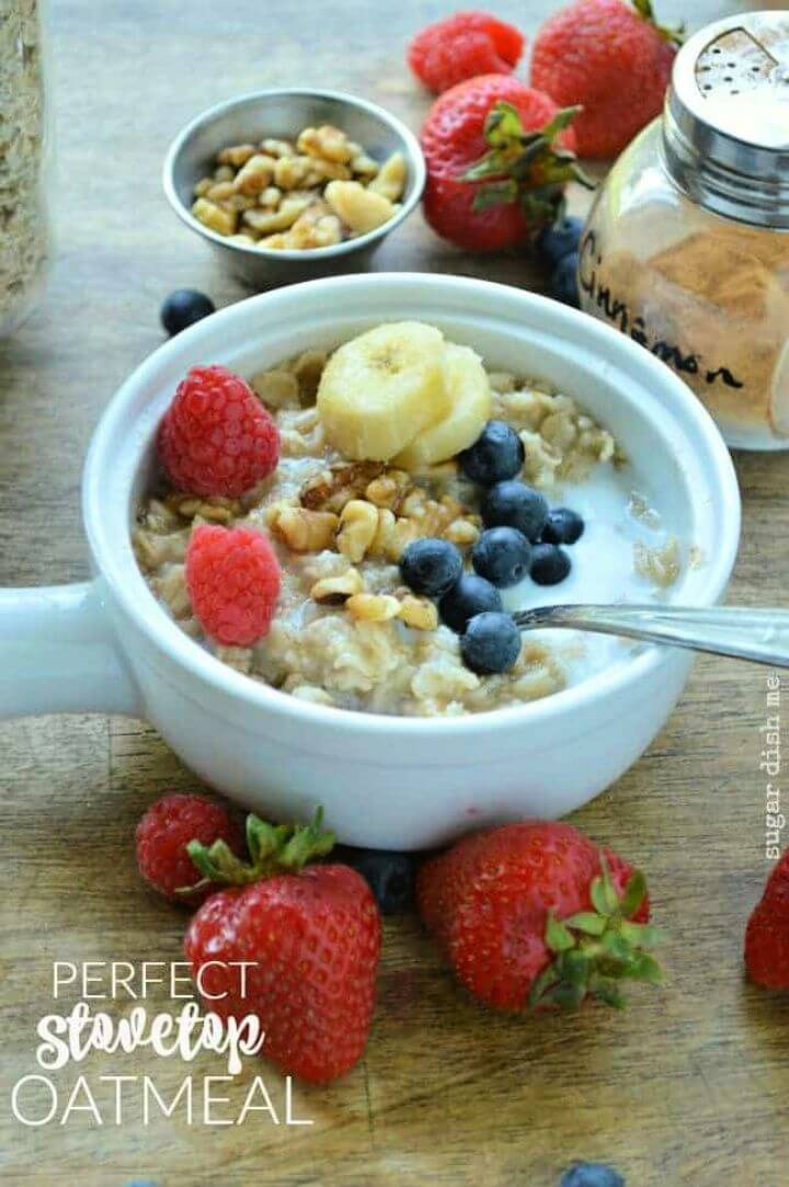 How To DIY Perfect Stovetop Oatmeal Recipe