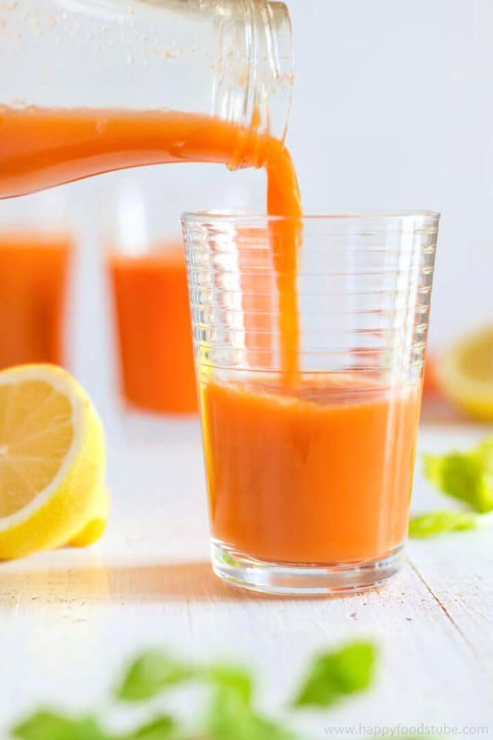 How To DIY Winter Vitamin Boosting Juice 4