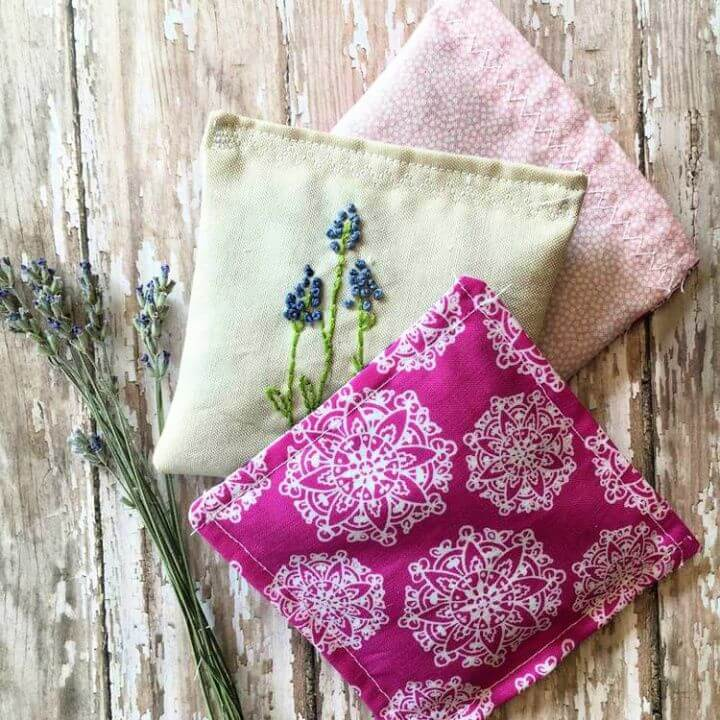 How To Make A DIY Lavender Sachets