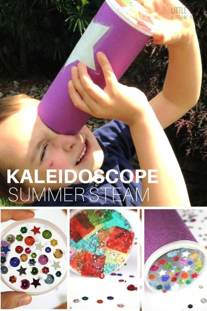 How To Make A Kaleidoscope For Kids
