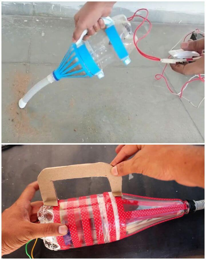 How To Make A Vacuum Cleaner From A Plastic Bottle