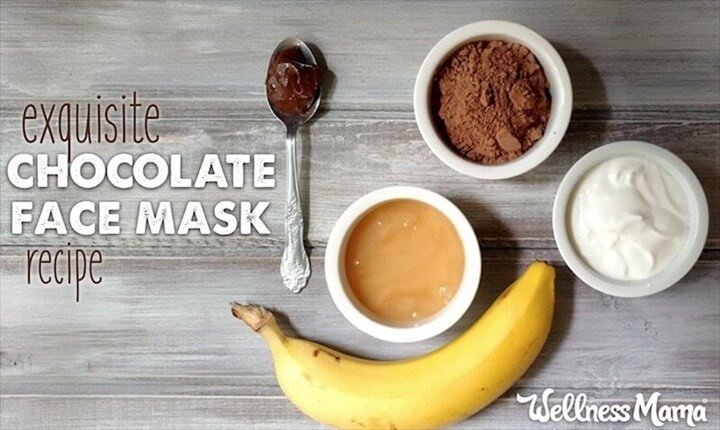 How To Make Chocolate Face Mask Recipe