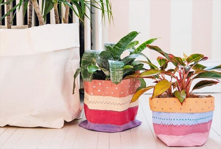 How To Make Planter Bags