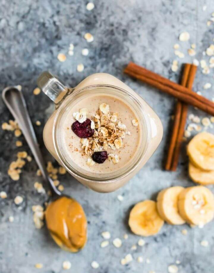 How To Make Your Own Oatmeal Smoothie