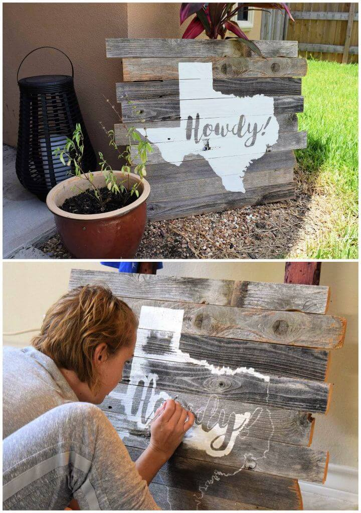 How To Reclaimed Wood Pallet Art