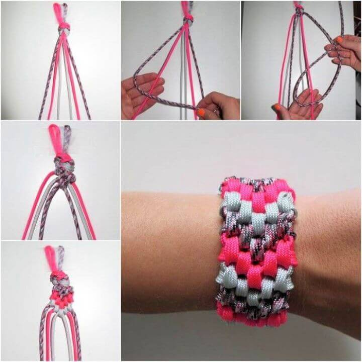 How to DIY 6 Strand Braided Friendship Bracelet