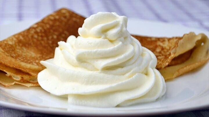 How to Make Whipped Cream Easy Homemade Whipped Cream Recipe