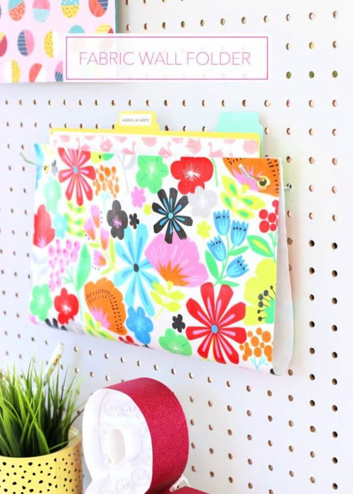 How to Make a DIY Hanging Wall Folder
