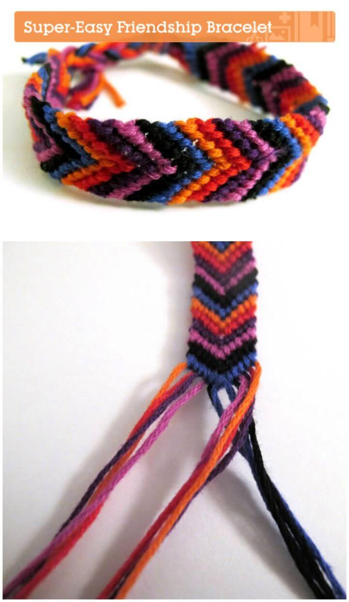 How to Make a Super Easy Friendship Bracelet