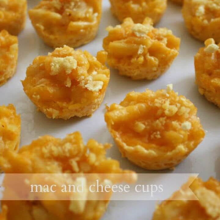 Mac And Cheese Cups Recipe For Toddler