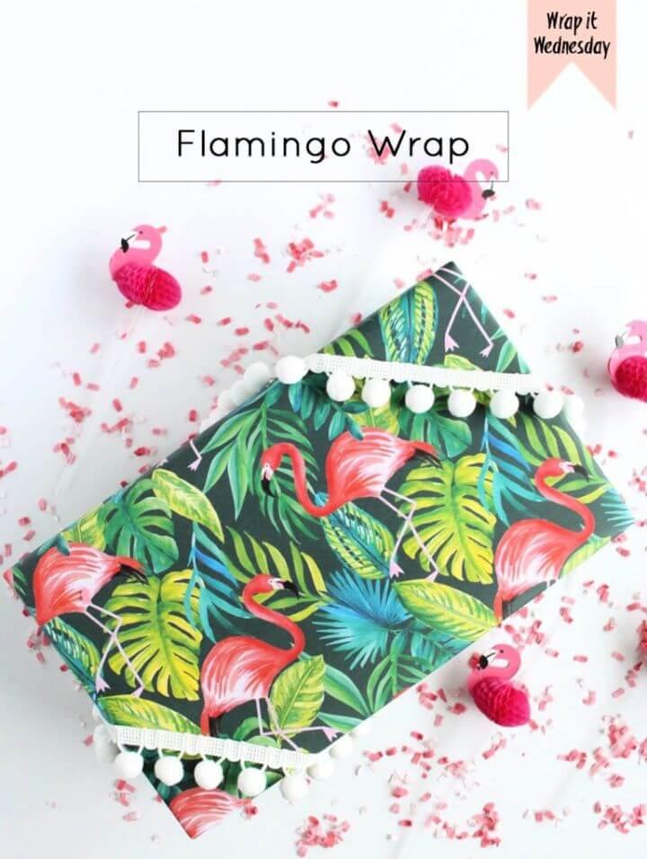 Make A DIY Flamingo Wrap