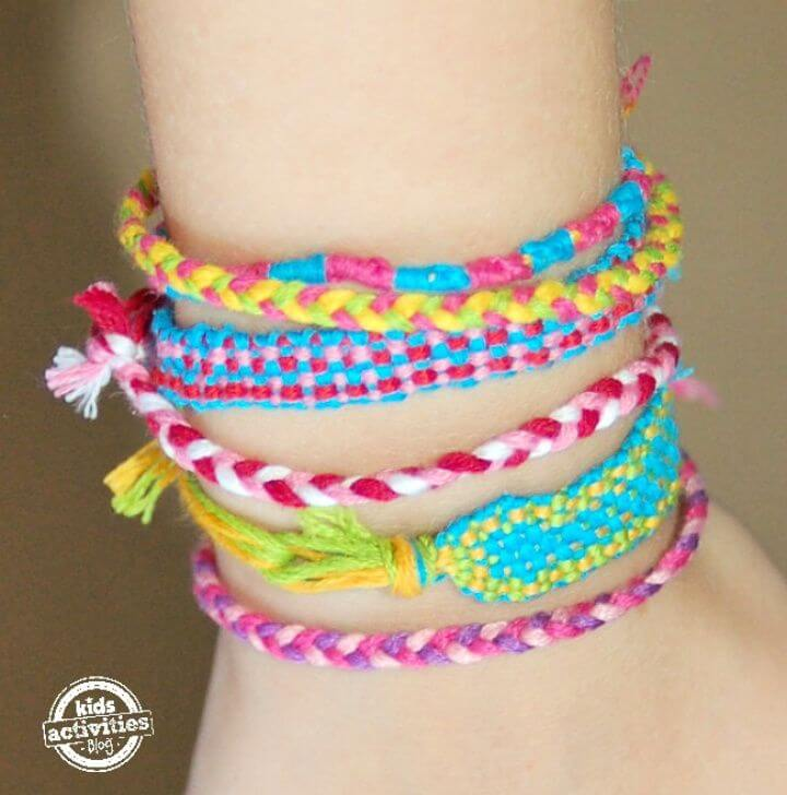 Make A Friendship Bracelet Loom