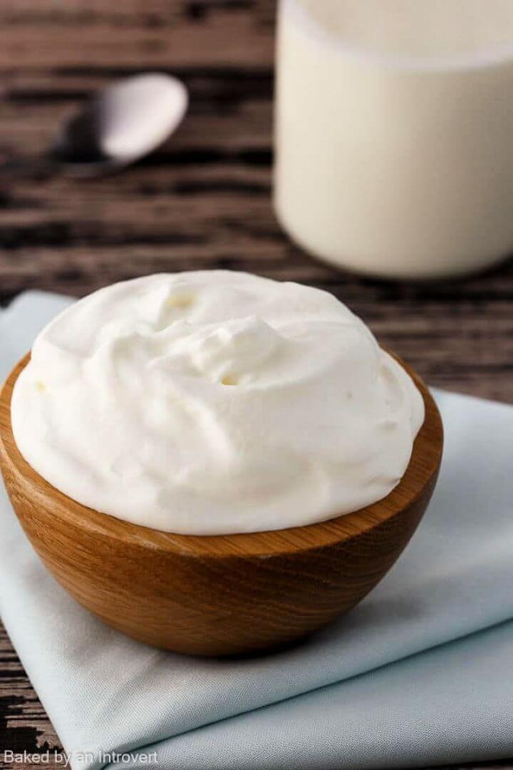 Make A Recipe Homemade Whipped Cream