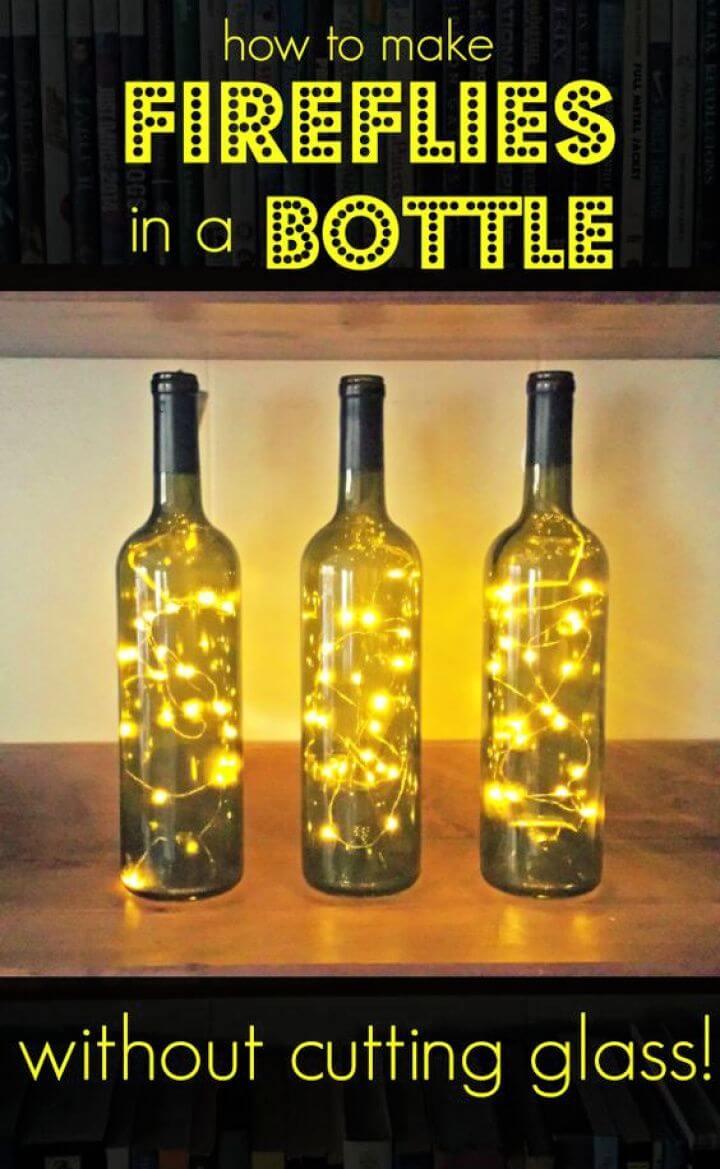 Make Fireflies In A Bottle