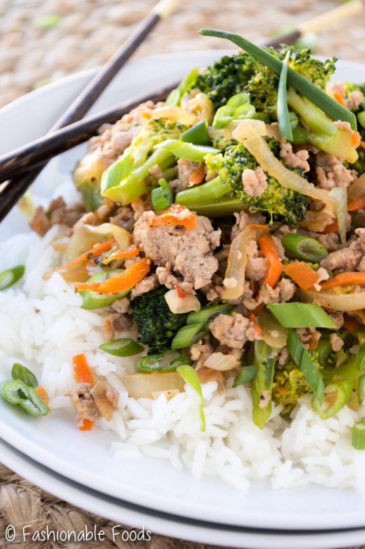 Make Ground Turkey and Broccoli