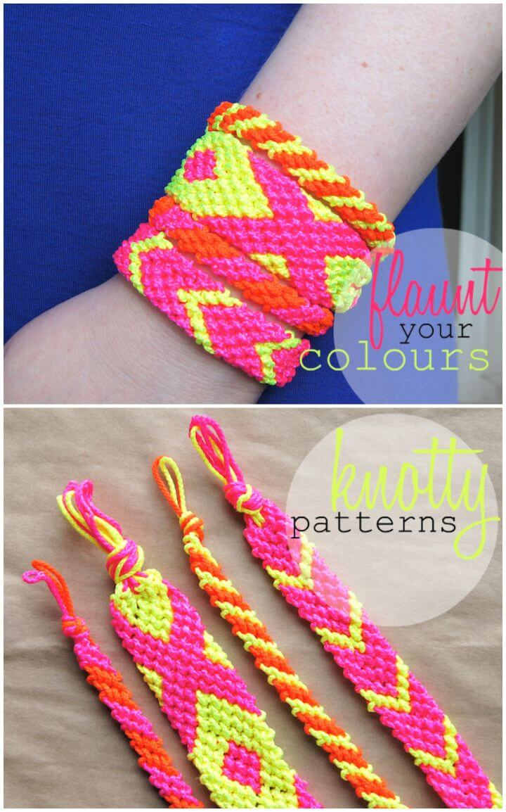 Make Neon Friendship Bracelets