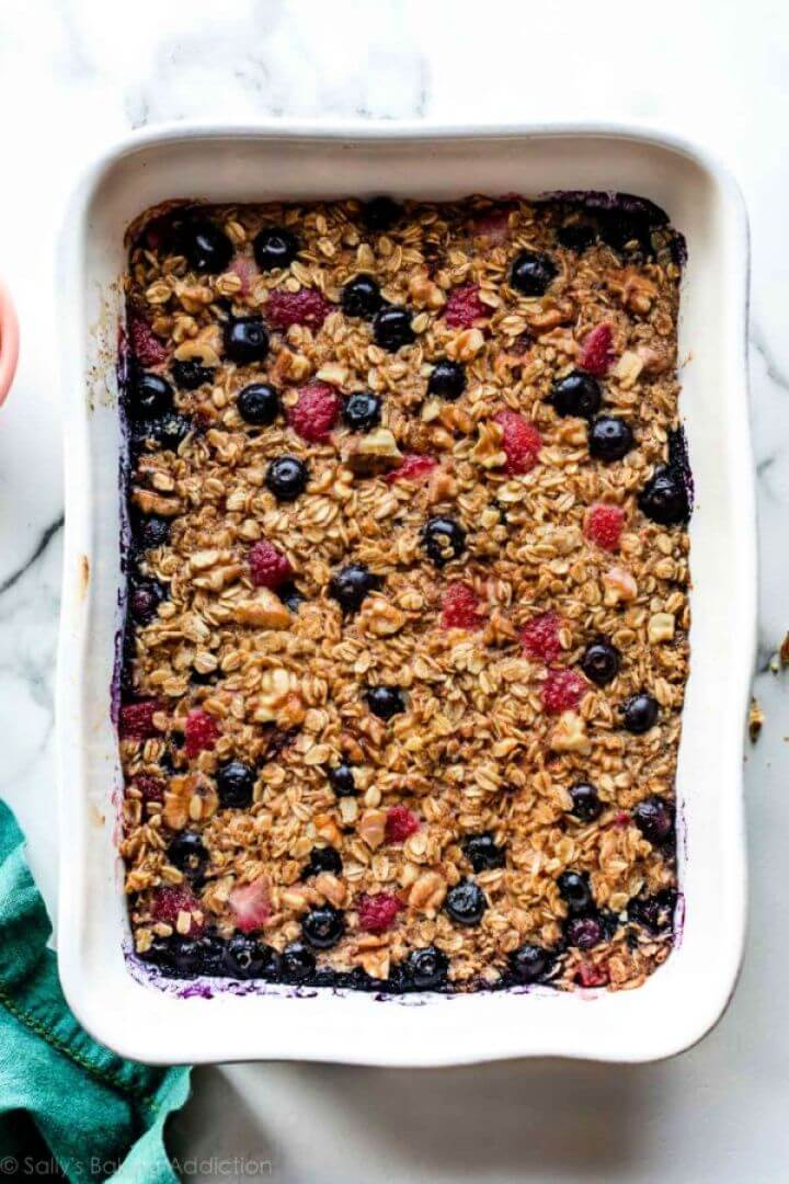 Make Your Own DIY Bowl Baked Oatmeal