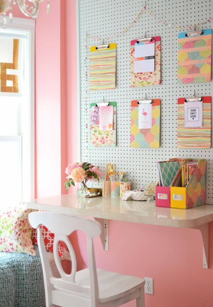 Make Your Own DIY Dorm School Supplies
