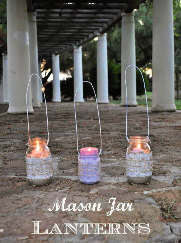 Make Your Own DIY Mason Jar Lanterns