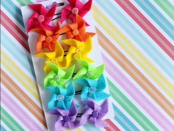 Pinwheel Tutorial from Sugar Bee Crafts DIY