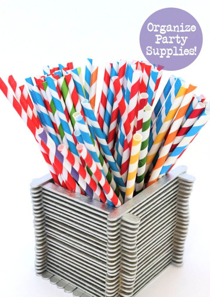 Popsicle Stick Boxes