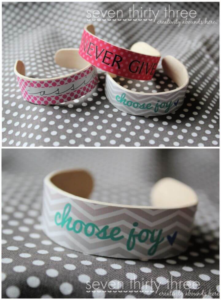 Popsicle Stick Bracelets Tutorial